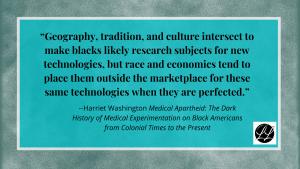 Harriet Washington quote
