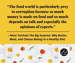 Nina Teicholz quote